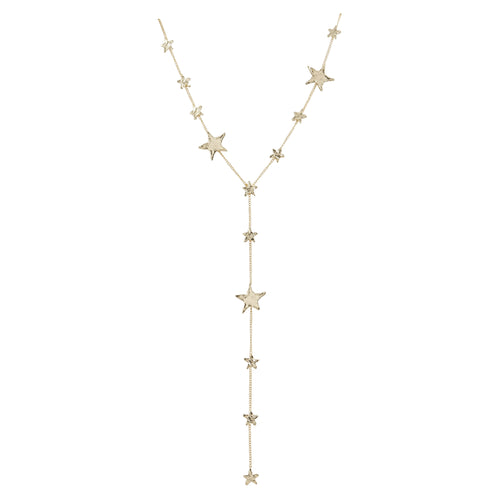 Tessie Lariat Star Necklace