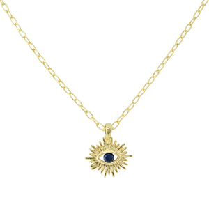 Varda Eye Charm Necklace