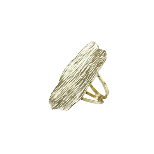 Skylar Statement Textured Ring