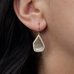 Yohanna Geometric Drop Earrings