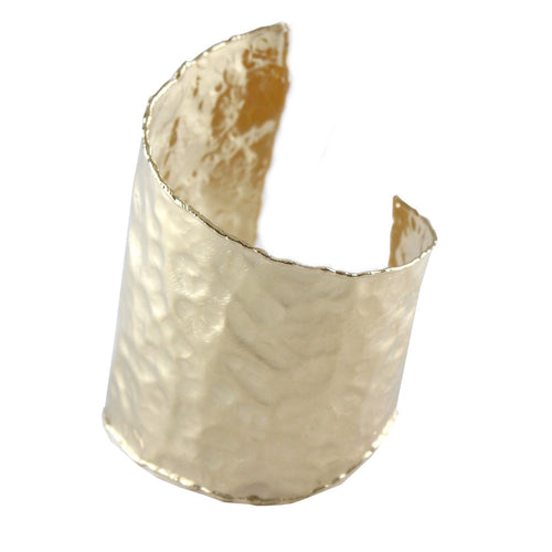 ALMA HAMMERED WRAP CUFF
