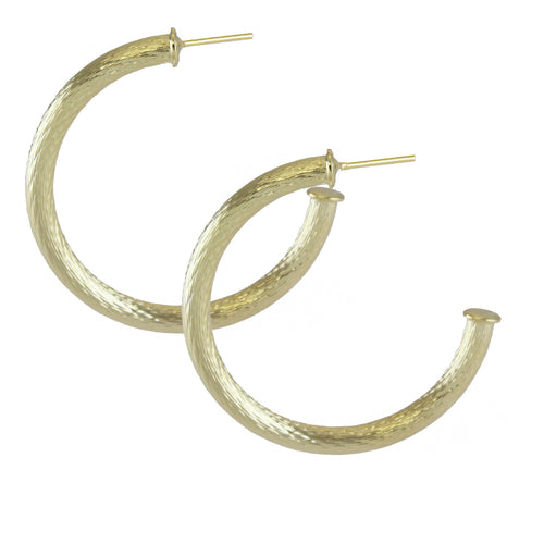 ILLANA ROPE HOOP EARRINGS