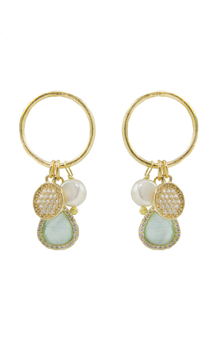 Jia Pearl Earrings