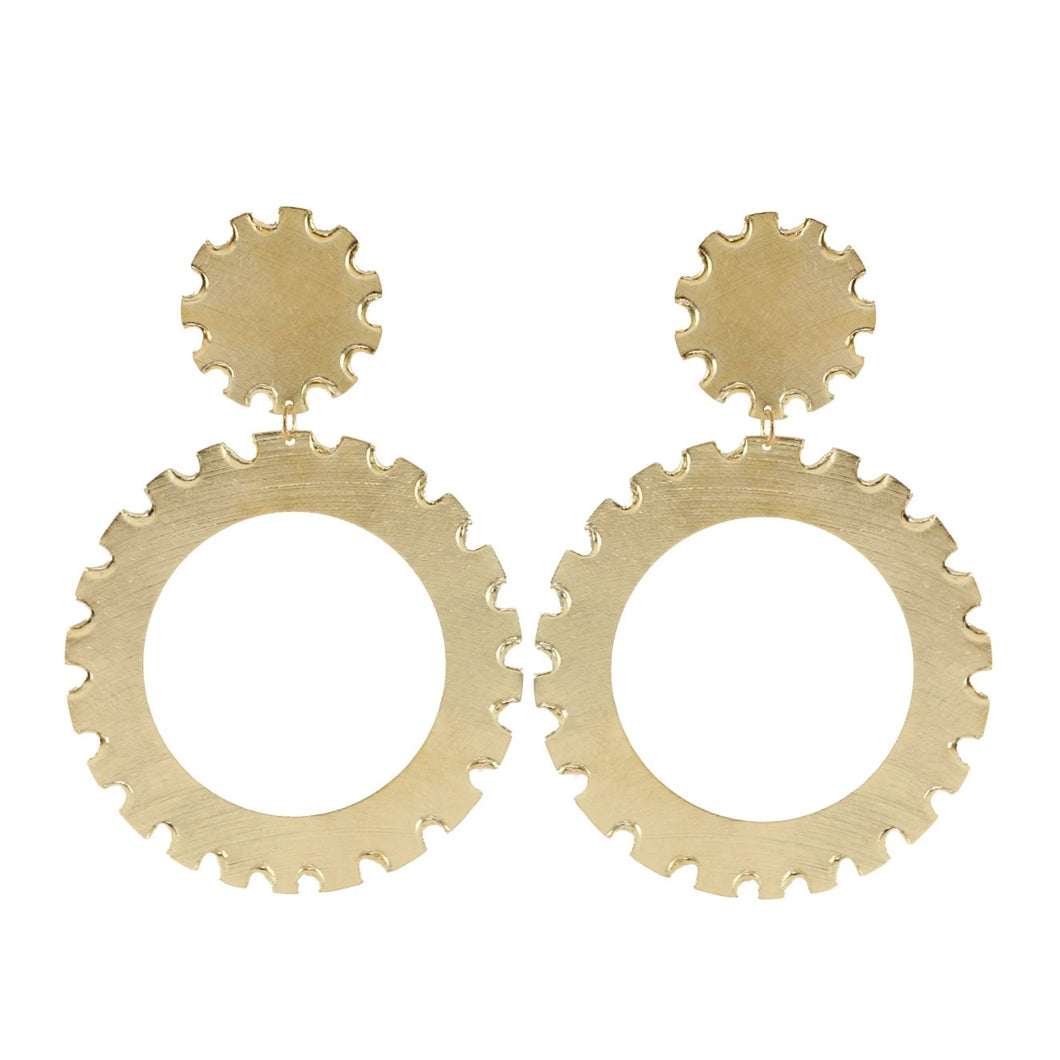 Gabi Hoop Earrings