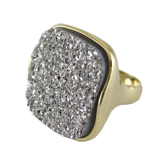 BRE SQUARE COCKTAIL RING