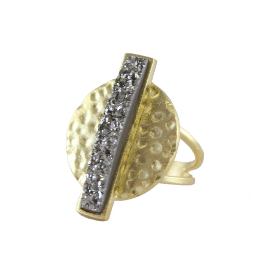 Sara Bar Stone RIng