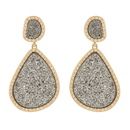 ATHENE DAZZLING DROP EARRINGS