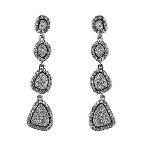 TISA CASCADING DECADANCE EARRINGS