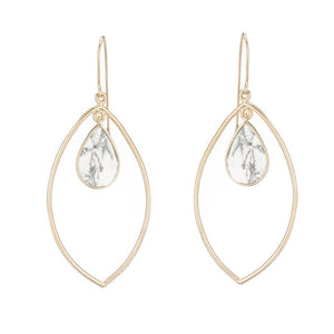 Delia Teardrop And Marquise Earrings