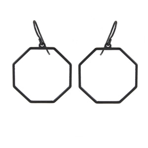 Owen Minimalist Octagon Earrings