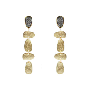 Araceli Druzy Earrings