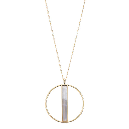 Plinnea Circle Necklace