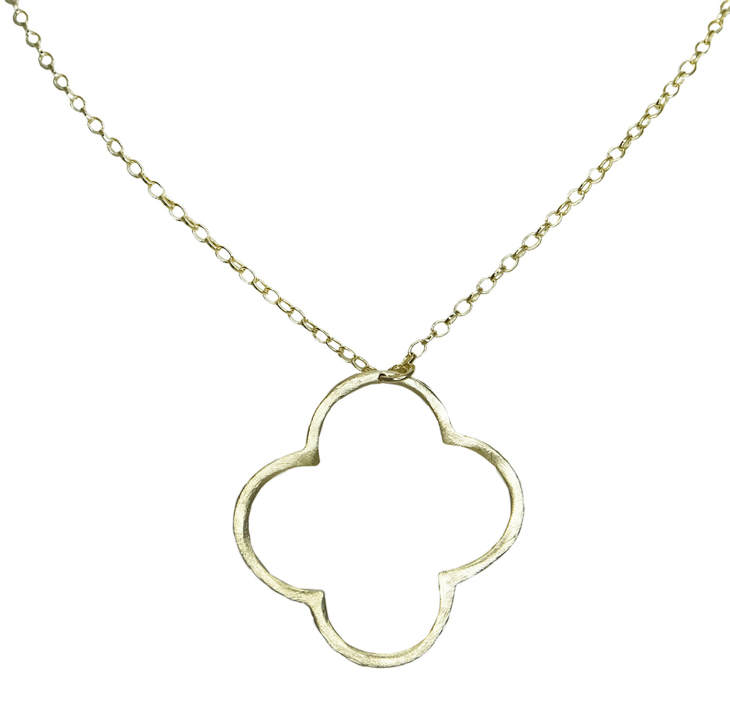 Ekene Clover Pendant Necklace
