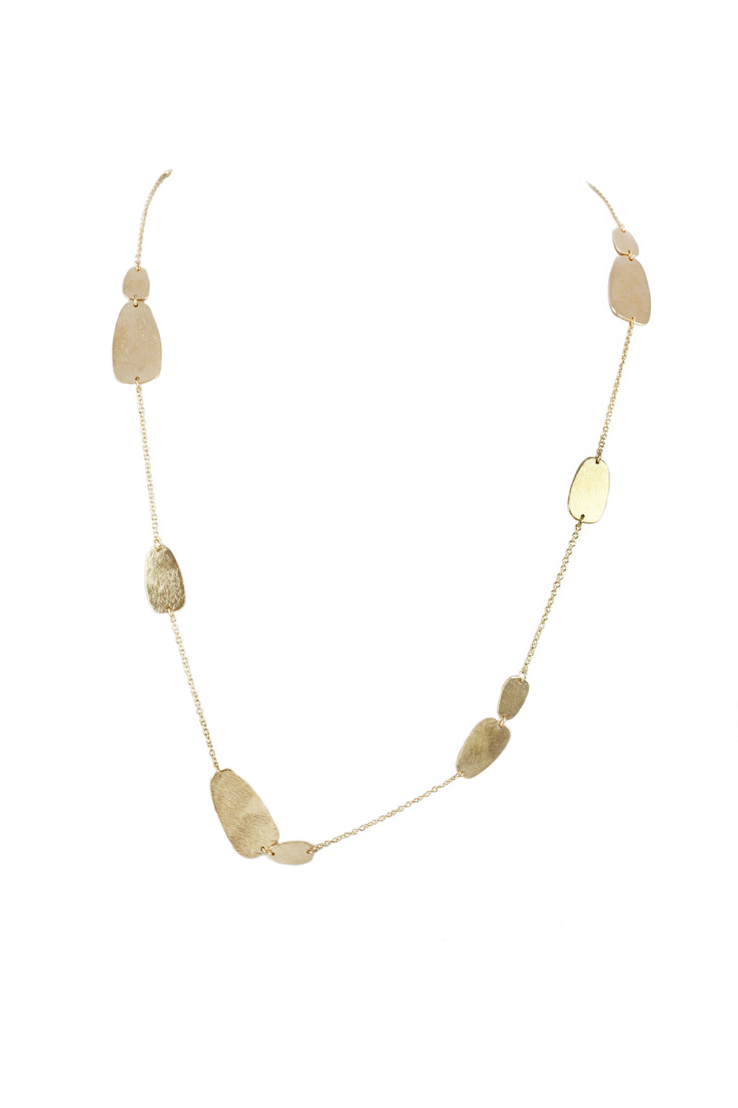 Lova Organic Coin Necklace