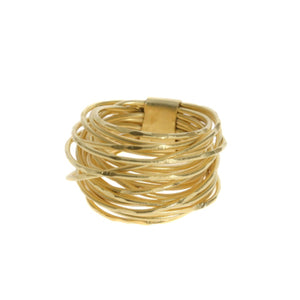 Marcia Moran Wire Wrapped ring in GOLD