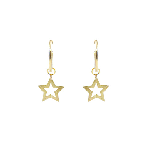 Carlene Star Drop Earrings