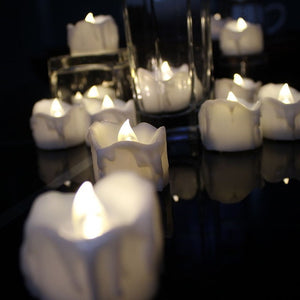 Pack of 12 Remote or not Remote New Year Candles,Battery Powered Led Tea Lights,Tealights Fake Led Candle Light Easter Candle - jazdiscount.com