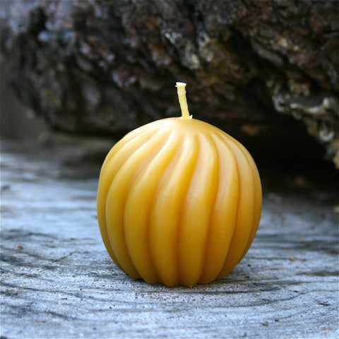 Spirall Ball Bees Wax Candle - FREE SHIPPING