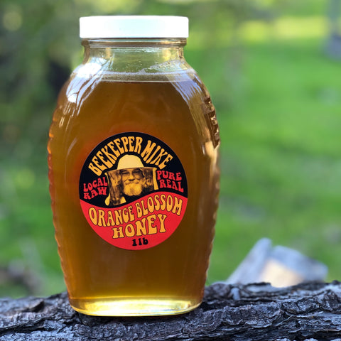 Orange Blossom Honey CA 2 lb - Case of Twelve