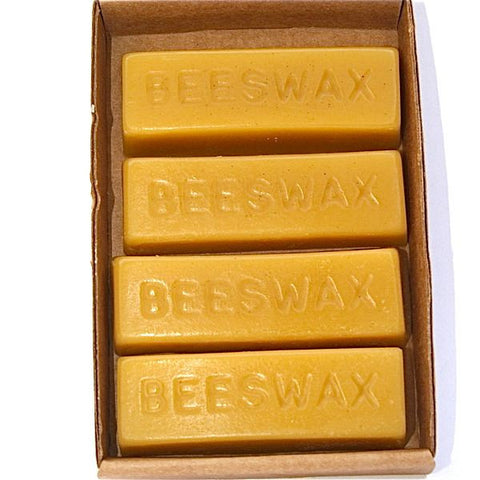 Bees Wax Four 1oz Blocks - FREE SHIPPING