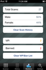Banned and VIP list
