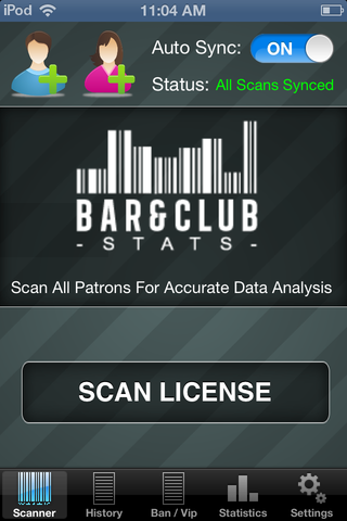 Scan All Patrons For Accurate Data Analysis | Bar & Club