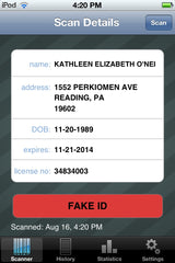 Fake ID Scanner