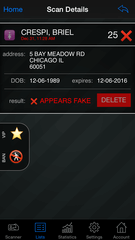 Fake ID Detection app
