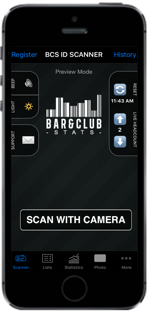 iPhone ID Scanner