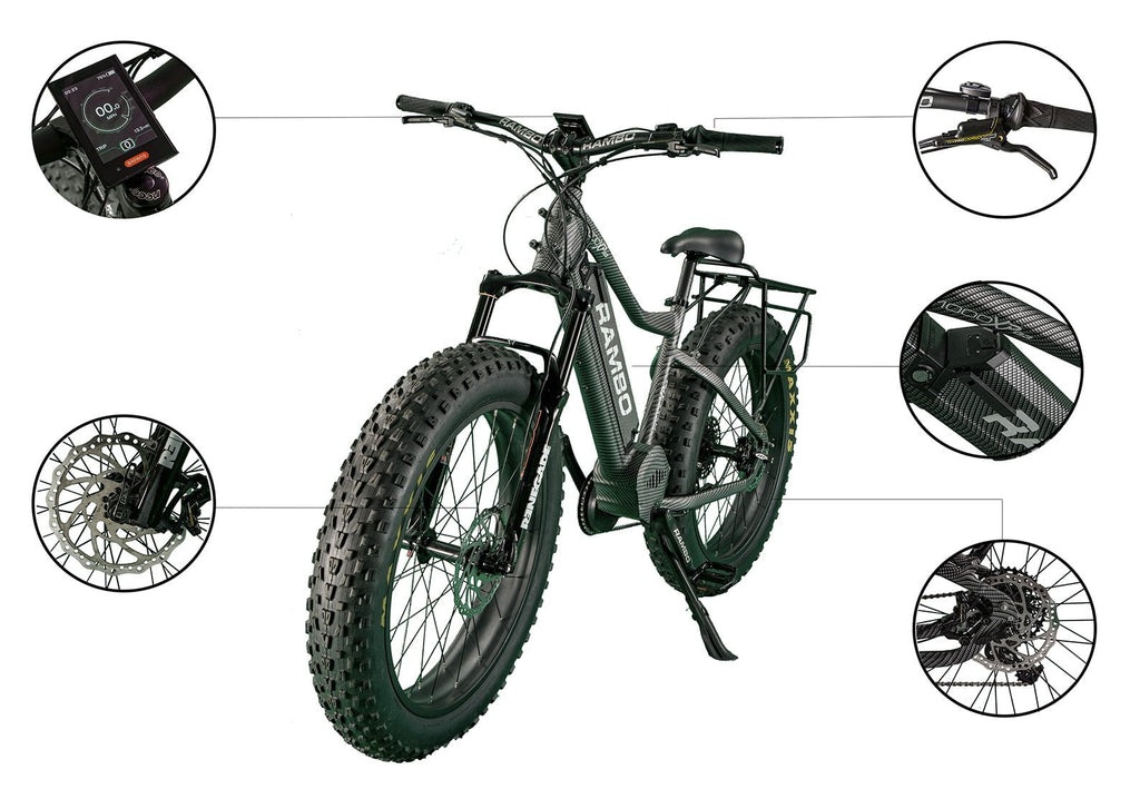 Rambo CARBON R1000XPS - Electric Bikes For All