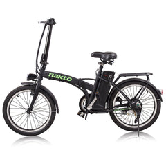 "Nakto Fashion 20"" Folding Electric Bike - Electric Bikes For All"