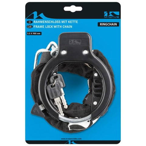 NA Cycles Frame Lock with Chain 231458 - Electric Bikes For All