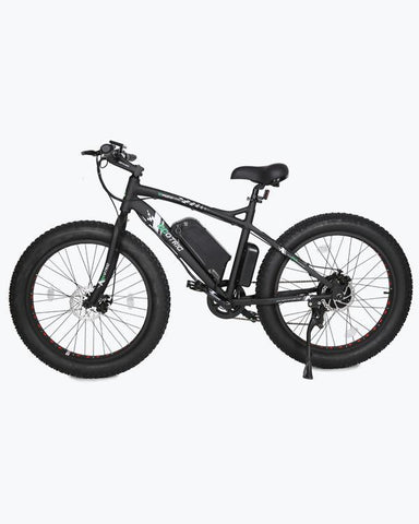 Ecotric Fat Tire Beach and Snow 500W Black Rim Electric Bike - Electric Bikes For All