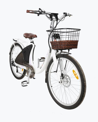 Ecotric Lark Commuter and City 500W Electric Bike for Women - Electric Bikes For All
