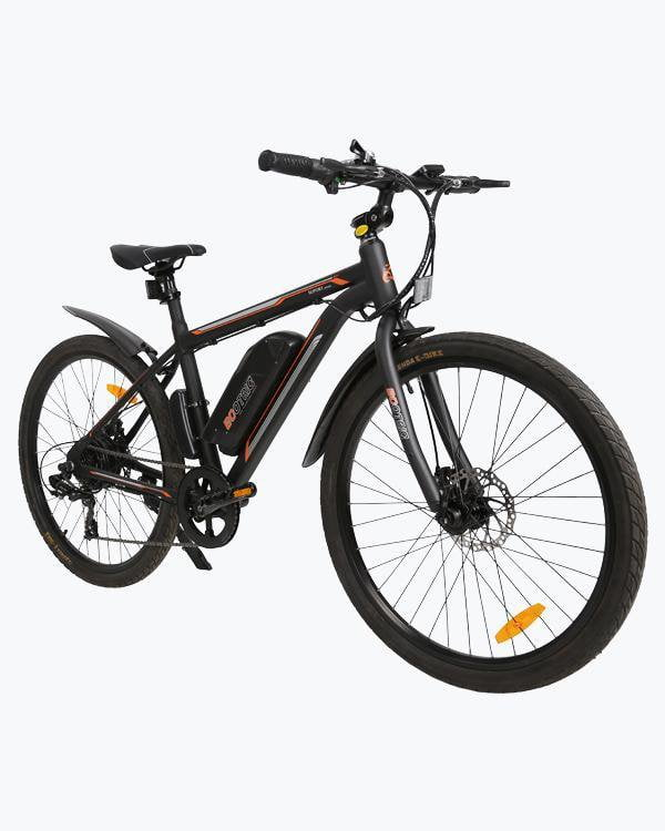 Ecotric Vortex Commuter and City 350W Black Electric Bike - Electric Bikes For All