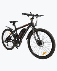 Ecotric Vortex Commuter and City 350W Black Electric Bike
