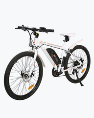 Ecotric Vortex Commuter and City 350W White Electric Bike