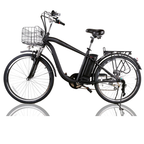 "Nakto Camel 26"" City Cruiser Men's Electric Bike - Electric Bikes For All"