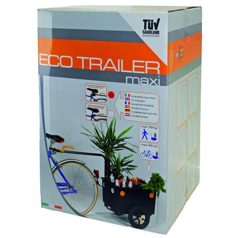 NA Cycles Luggage Bucket Trailer 640040 - Electric Bikes For All
