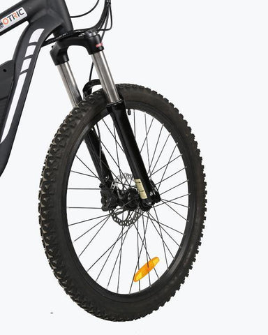 Ecotric Tornado Full Suspension 750W Electric Mountain Bike - Electric Bikes For All