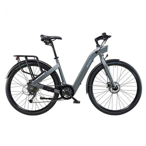 BESV CF1 36V 250W 700c Gray Stepthrough Cruiser/Commuter Electric Bike - Electric Bikes For All