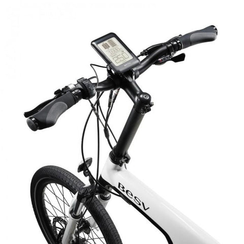 BESV PSA1 36V 250W White City Cruiser Electric Bike - Electric Bikes For All