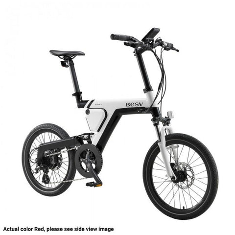 BESV PSA1 36V 250W Red City Cruiser Electric Bike - Electric Bikes For All