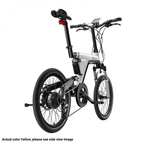 BESV PSA1 36V 250W Yellow City Cruiser Electric Bike - Electric Bikes For All