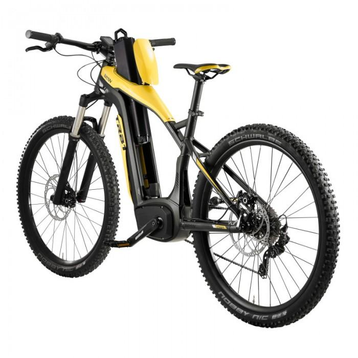 BESV TRB1 20mph XC L 490 250W Yellow Electric Mountain Bike - Electric Bikes For All
