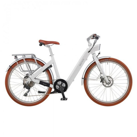 "BESV CF1 26"" 36V 250W White Stepthrough Cruiser/Commuter Electric Bike - Electric Bikes For All"