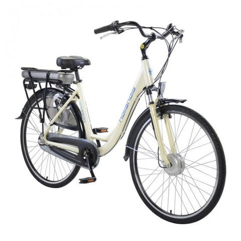 Hollandia Evado Nexus 3.18 700C Step-Through White Electric Bike - Electric Bikes For All