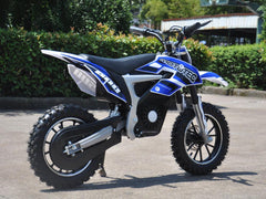 MotoTec 36v 500w MT-Dirt-Lithium_Blue Electric Dirt Bike