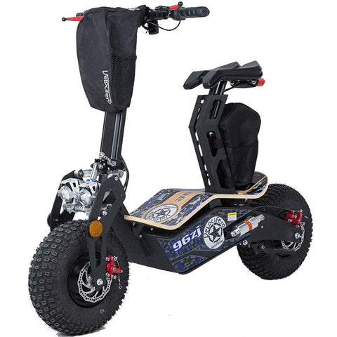 MotoTec Mad 1600w 48v MT-Mad-1600_Blue Electric Scooter - Electric Bikes For All