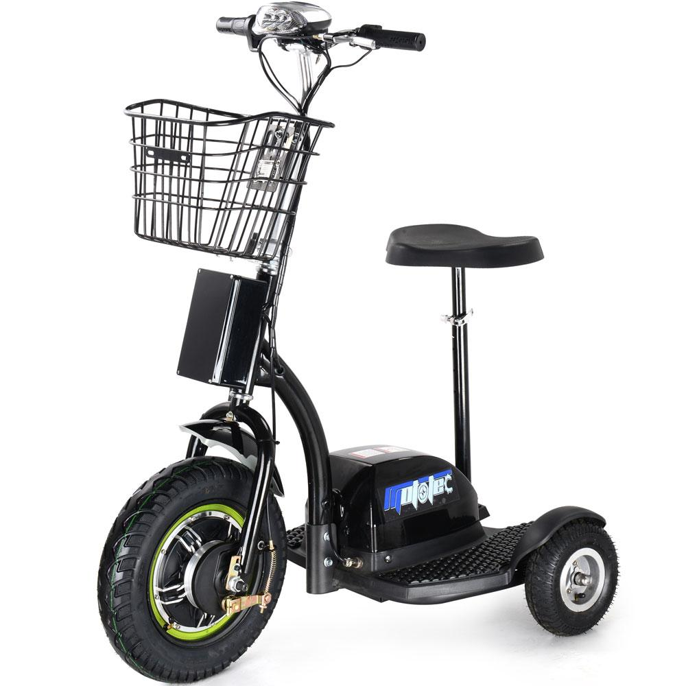 MotoTec 48v 500w MT-TRK-500 Electric Trike - Electric Bikes For All